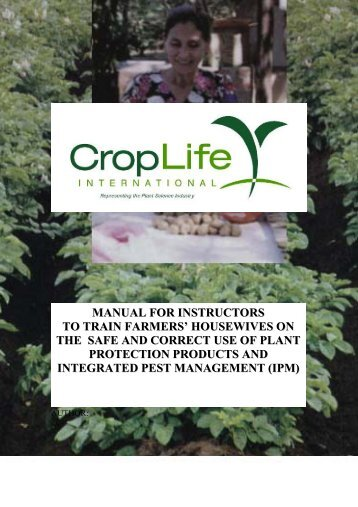 MANUAL FOR INSTRUCTORS TO TRAIN FARMERS ...