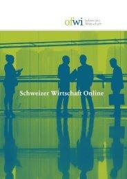 Factsheet - Schweizer Wirtschaft