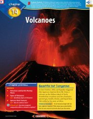 Chapter 14: Volcanoes - test