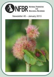 Newsletter 45 – January 2013 - National Federation for Biological ...