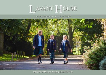 Independent Day and Boarding School for Girls - Lavant House