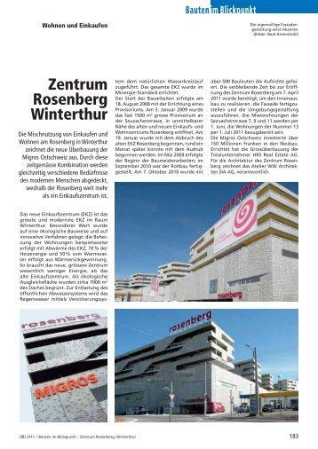 Zentrum Rosenberg Winterthur - Robe Verlag AG