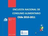 Encuesta Nacional de Consumo Alimentario 2010 ... - Elige Vivir Sano