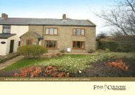 heatherlea cottage | rowley bank | castleside ... - Fine & Country