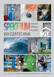 WASSERTECHNIK - Robe Verlag AG