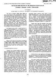 NOTES ON SOME SPECIES OF THE GENUS MACROBRACHIUM ...