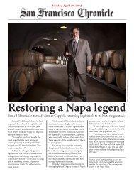 Restoring a Napa legend - Pacific Wine Company