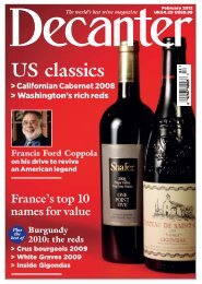 Decanter - Pacific Wine Company