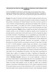 DECORAÇÃO DE PRATOS COMO FORMA DE ... - Sispnh.com.br