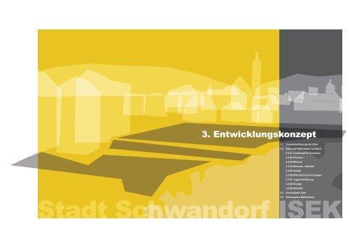 3. Entwicklungskonzept - Stadt Schwandorf