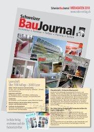 SBJ MEDIADATEN 2010 - Robe Verlag AG