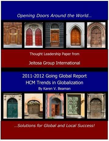 2011-2012 Going Global Report HCM Trends in ... - CloudPay