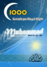 1000 sunnah per day & night - islam in