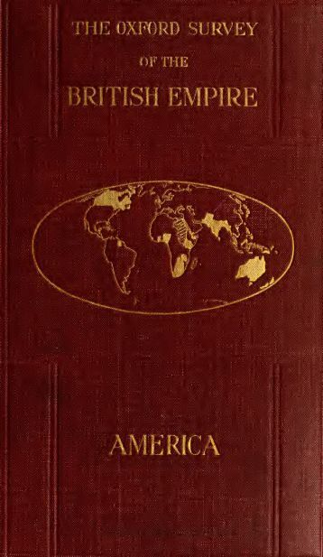 The Oxford Survey of the British Empire: Volume 4 - America