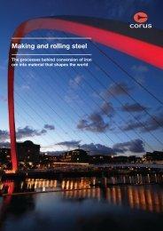 Making and rolling steel - Tata Steel