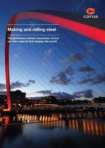 Making and rolling steel - Tata Steel