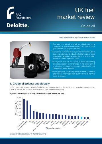 UK fuel market review