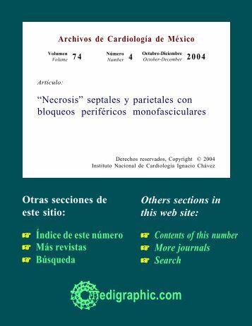 """""""Necrosis"""" septales y parietales con bloqueos ... - edigraphic.com"""
