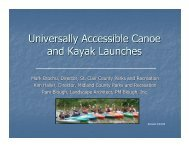 Universally Accessible Canoe and Kayak Launches - Designing ...