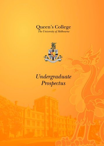 Download Queen's College Prospectus [PDF 2.0mb]