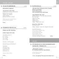 detaillierte Programm - Landsberger Konzerte