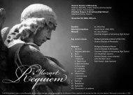 Mozart: Requiem - Oratorio Society of Minnesota