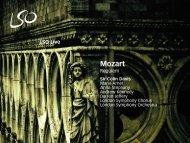 Mozart: Requiem - London Symphony Orchestra