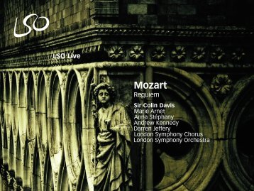 Mozart: Requiem - London Symphony Orchestra