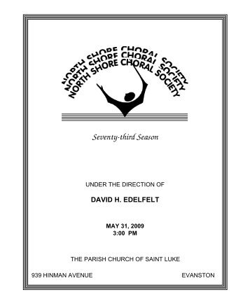 Sample Church Program  Sample Ideas