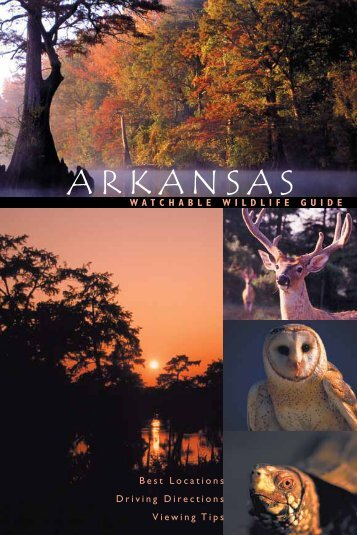 Watchable wildlife guide - Arkansas Game and Fish Commission