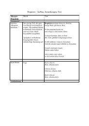 Requiem – Aufbau, Anmerkungen, Text Mozart- Requiem