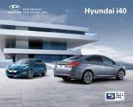 E-Prospekt Hyundai i40 Sedan