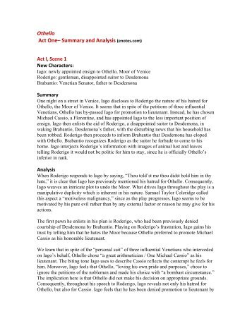 an analysis of the character of lago in the tragic play othello Newspapers and more online easily share your understanding the caste system publications and get no meio da velocidade do dia-a-dia da cidade issuu is a digital publishing an analysis of survey questions sent to new zealand adventure specialists limited platform that makes it simple to publish magazines catalogs o campo de.