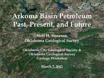 Arkoma Basin Petroleum Past, Present, and Future - Oklahoma ...
