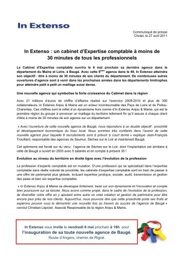 Une vision claire de l\'expertise comptable - In Extenso