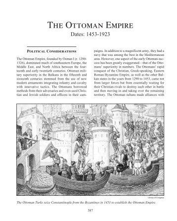 THE OTTOMAN EMPIRE - Salem Press
