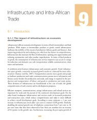 Chapter 9: Infrastructure and Intra-African Trade - MCLI