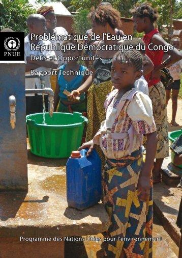 Problématique de l'Eau en République Démocratique du ... - UNEP