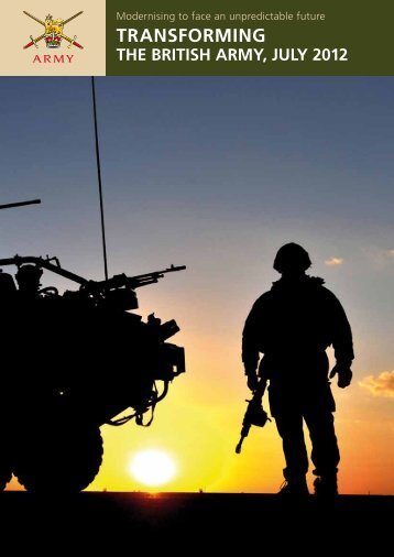 TRANSFORMING - British Army