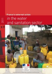 France's external action in the water and sanitation
