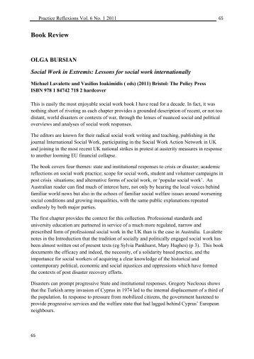 Book Review - Australian Community Workers Association