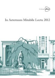 In Aeternum Mirabile Lectu 2012 - Stedelijk Gymnasium Haarlem