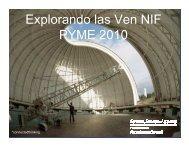 Explorando las Ven NIF PYME 2010