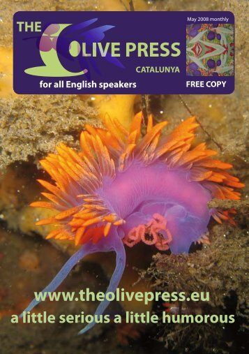 May 2008 issue 1 - The Olive Press