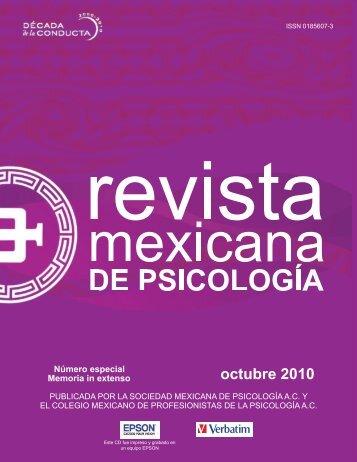 Número especial Memoria in extenso - Universidad Autónoma del ...