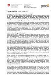 Pressemitteilung (inkl. Grafik) im pdf-Format - net www.swissgranum ...