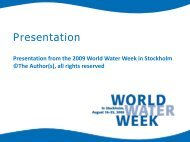 The Inter Basin Water Transfer Project from Oubangui - World Water ...