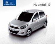 E-Prospekt Hyundai i10 - Stadt-Garage Rimini AG