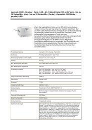 Lexmark C920 - Drucker - Farb - LED - A3, Tabloid Extra (305 x 457 ...