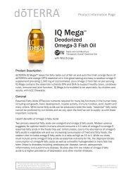 IQ Mega - dōTERRA - Essential Oils